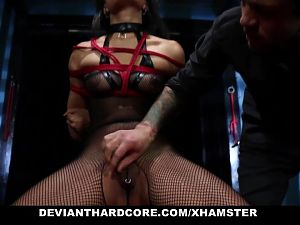 DeviantHardcore - Petite Asian Powerfucked by Mean Cock