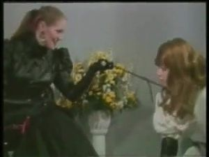 Mistress dominates maid crossdresser
